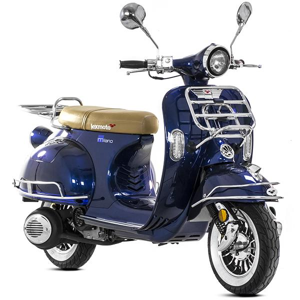 lexmoto milano 125 ft125t 27 125cc scooters. Black Bedroom Furniture Sets. Home Design Ideas