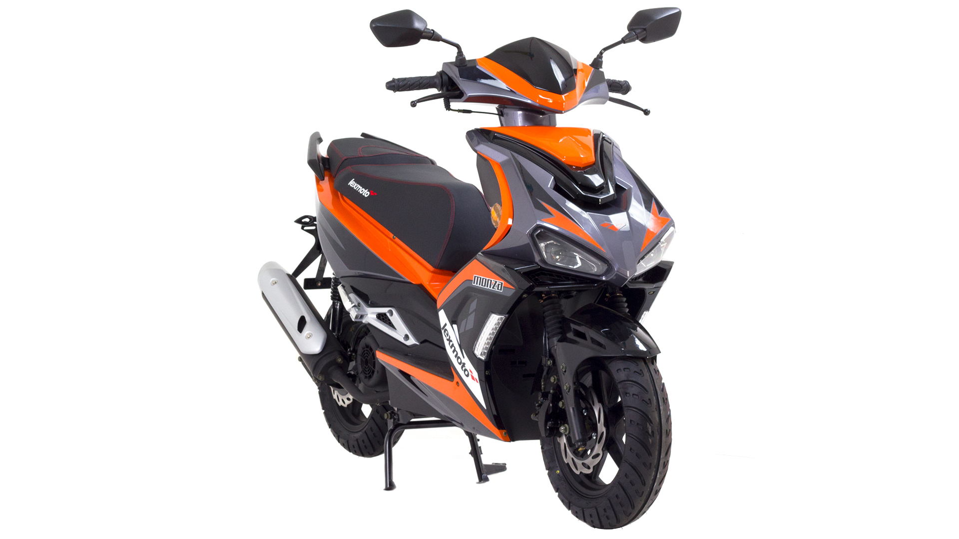 Electric Moped Scooter >> Lexmoto | Monza 125 | ZN125T-34 | Lexmoto Scooters | 125cc ...