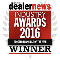 Scooter franchise of the year 2016