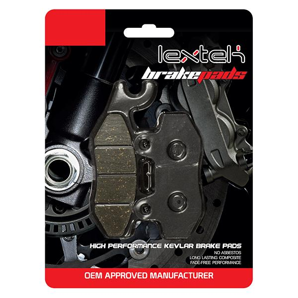 Lextek Brake Pads FA135 FDB497 DP411 SBS611 VD-340 7.5mm