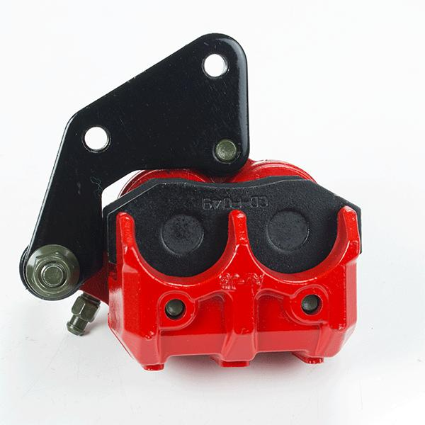 Red Front Brake Caliper Twin Pot