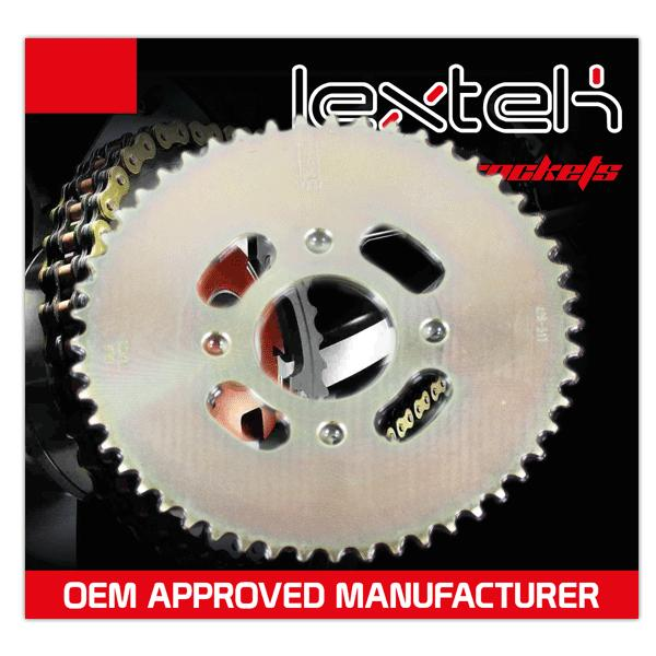 Lextek Rear Sprocket 428-51T 4 Bolt Fixing