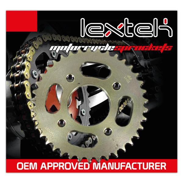 Lextek Rear Sprocket 428-38T 4 Bolt Fixing
