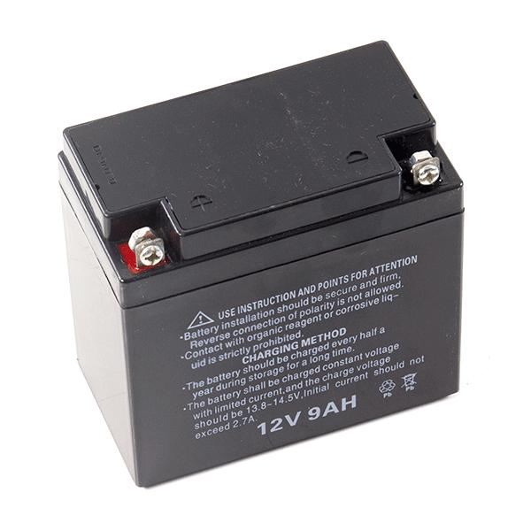 Motorcycle Battery 12V9AH