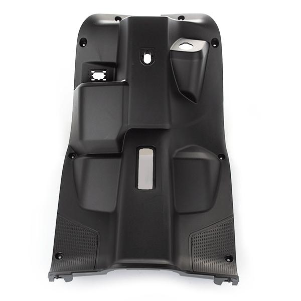 Black Footwell Panel (Front, Facing Knees)