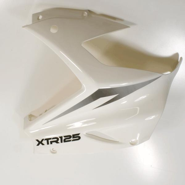 Panel (Front Right) Gloss White/Silver