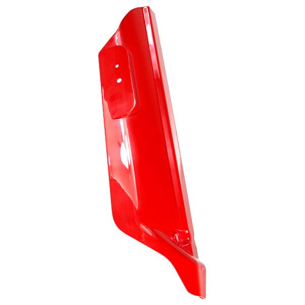 Front Right Suspension Cover Gloss Red with Reflector