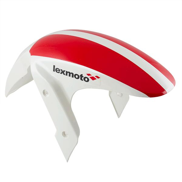 Front Mudguard  Race (Red/White)