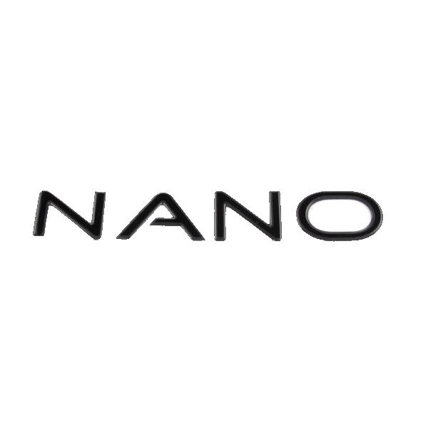 Black NANO Sticker