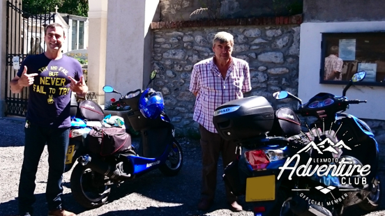 Lexmoto Adventure Club Father and Son take a trip of a lifetime!