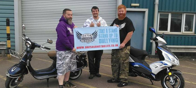 Lexmoto Adventure Club Bikes Against Bullies UK Complete their Grand Tour