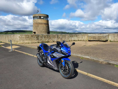 Lexmoto Adventure Club LXR - Gateshead round trip to Newby Bridge