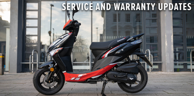 Enjoy your Lexmoto motorcycle without Warranty or Servicing stresses for longer